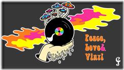Peace Love and Vinyl Shirt Deign Final